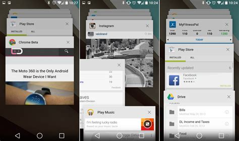 android multitasking android l features new multi tasking droid