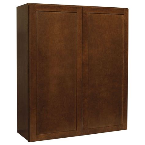 Shaker Cabinets Home Depot by Hton Bay Assembled 36x42x12 In Shaker Wall Cabinet In