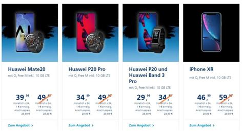 o2 black friday kracher 100 bonus f 252 r huawei bundles iphone xr f 252 r 1 mit o2 free m 10gb