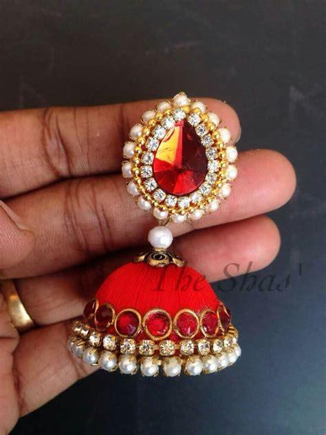 Handmade Thread Jewellery - 122 best images about silk thread jewellery on