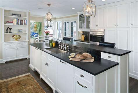 Soapstone Countertops Mn by The Woodshop Of Avon Traditional Kitchen Minneapolis