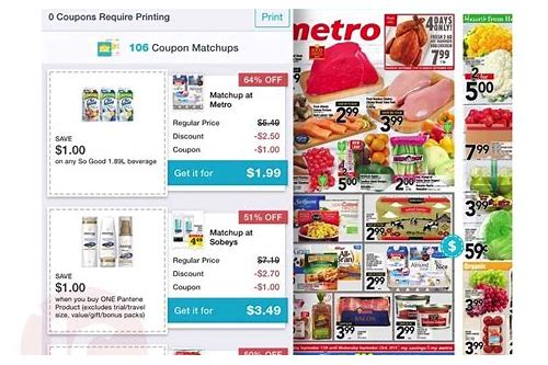 canada grocery coupons app
