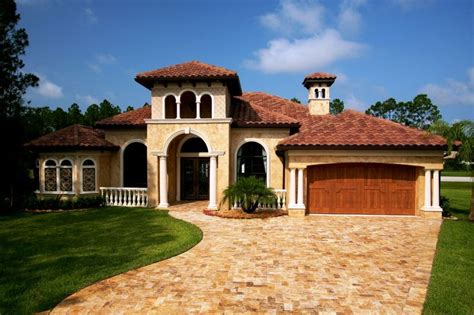Tuscan Houses | tuscan style one story homes tuscan style house plans