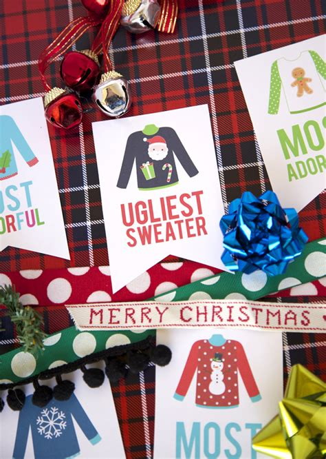 christmas party award ideas sweater awards my s suitcase packed with creativity
