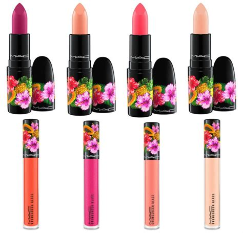 8 Lipsticks For Summer by The Makeup Examiner Mac Fruity Collection Summer 2017