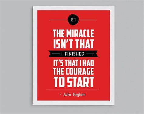 printable running quotes half marathon running inspirational john bingham quote