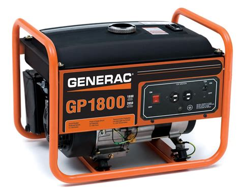generac gp 1800 watt portable generator the home depot