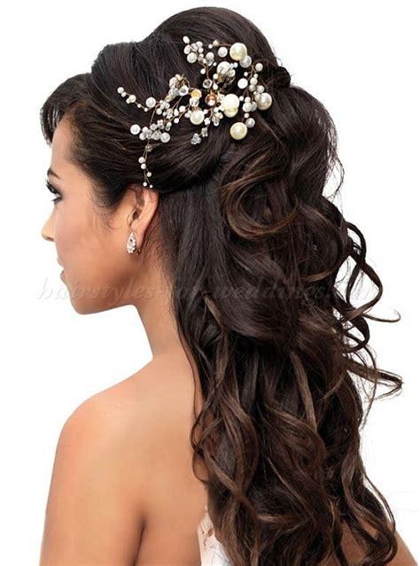 Bridal Hairstyles Long Hair Half Up | half up wedding hairstyles half up half down wedding