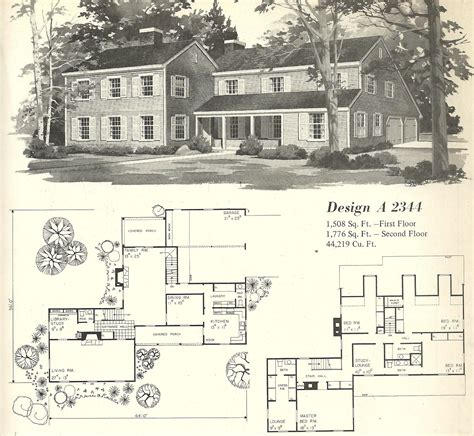 Classic House Plans by Vintage House Plan Vintage House Plans 1970s Farmhouse
