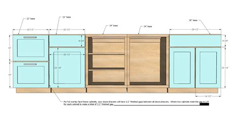 kitchen cabinet drawer sizes car tuning ana white face frame base kitchen cabinet carcass diy