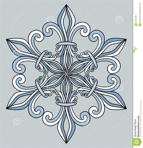 pattern design element royal pattern design element stock image image 34124461