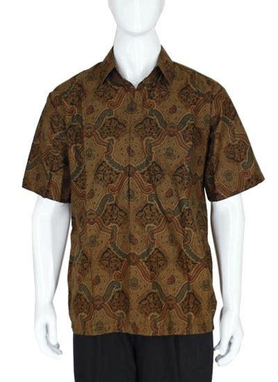 Kemeja Batik Pendek Motif Batu 2 kemeja pendek batik baturaden motif ceplok lasem kemeja lengan pendek murah batikunik