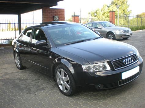 2004 black audi a4 audi 2004 black audi a4 1 8t was listed for r120 000 00