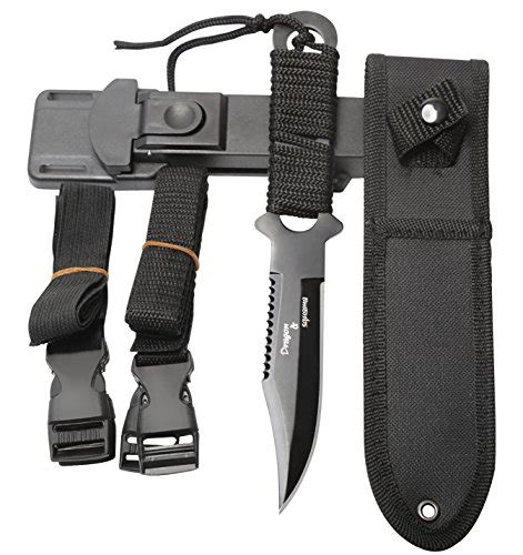 tactical dive knife dive knife black tactical sharp knives with 2 sheaths