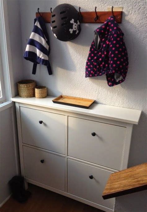 ikea entryway ideas shoe cabinet entryway and hemnes on pinterest