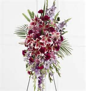 Spray Of Flowers For Funerals - tender touch standing spray kremp com