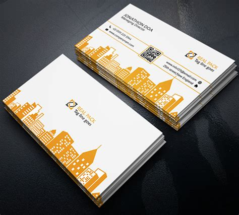 real estate business card template psd 42 best and useful free psd files a designer must