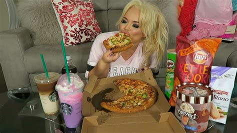 eat show my favorite junk food 2 mukbang show me eat