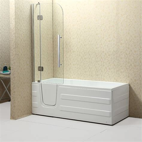 bathtub with door for seniors 2016 new safety walk in bathtub with curtain and door for