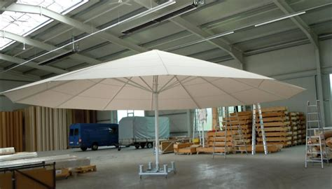 largest patio umbrella fim p series aluminum 10 x 13