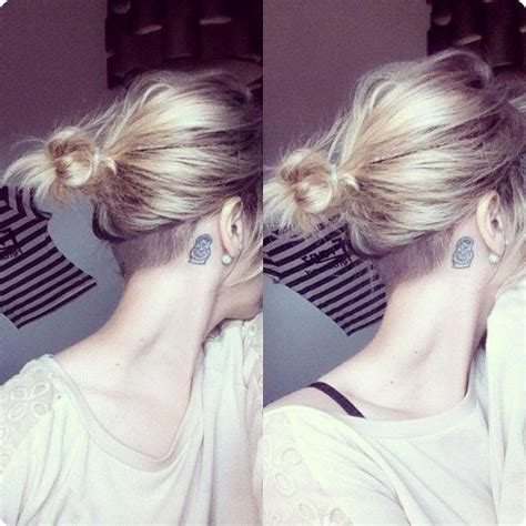 15 inspirations of hairstyles for long hair shaved side best 25 very short hair ideas on pinterest very short best