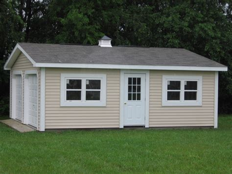 24x24 two car garage with lean to in millersville md storage sheds for sale garden sheds rochester ny premier