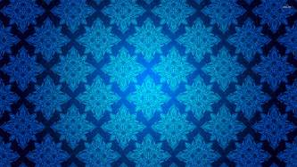 Bright Upholstery Fabric Blue Vintage Pattern Wallpaper Vector Wallpapers 864