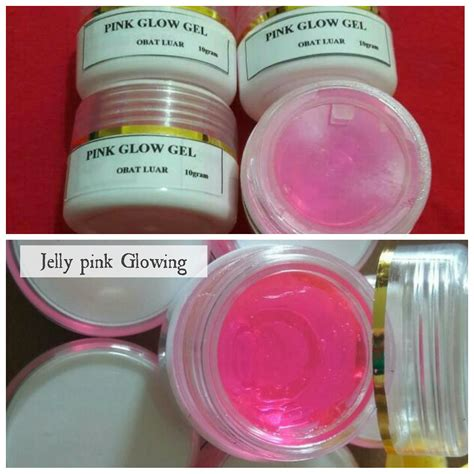 Jelly Glowing Alpha Arbutin 500gr m j shop jelly pink glowing