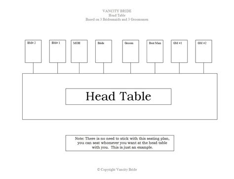 table of 10 seating plan template chart seating chart template