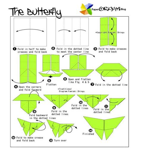 Butterfly Origami Easy - 81 best origami images on diy