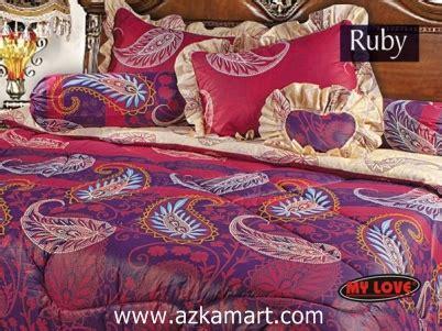 Sprei Katun Motif Clover bed cover sprei my terbaru luxury edition grosir