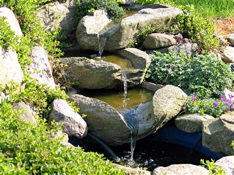 how to make a backyard waterfall how to build an outdoor waterfall 6 simple steps