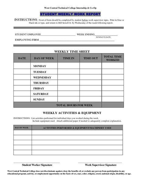works templates work report template free business template
