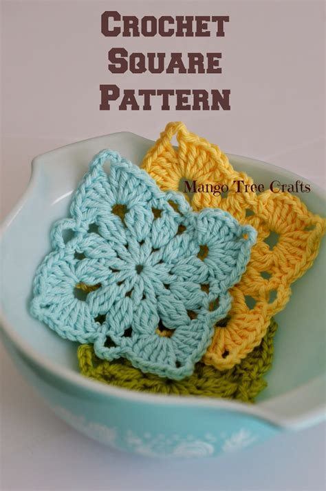 Small Botanical Crochet Motif Patterns Crochet Kingdom crochet motif patterns images