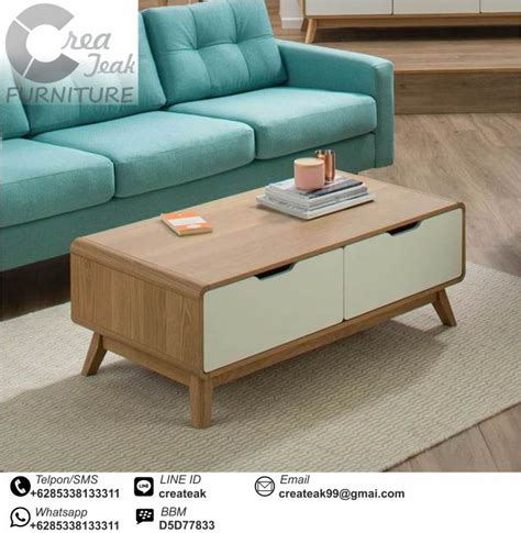 Meja Tamu Retro Meja Modern Kursi Tamu Kursi Teras meja tamu minimalis retro vintage createak furniture