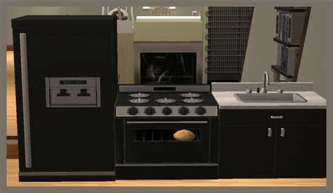 Mod The Sims   Childrens Functional Kitchen Set
