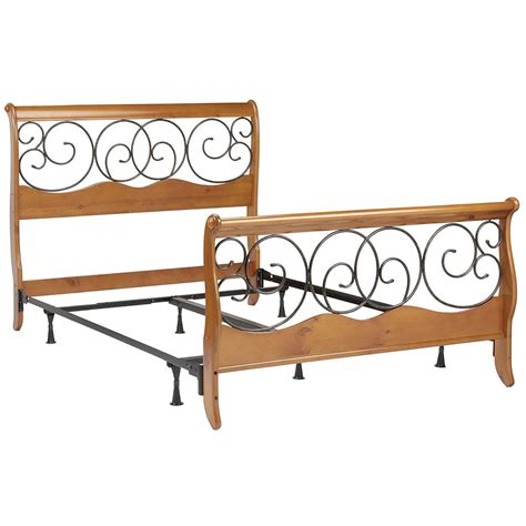 slay bed frame dunhill wooden sleigh bed frame in beds and headboards