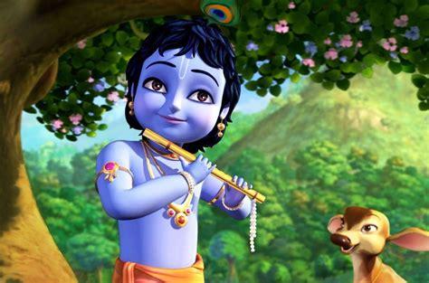 wallpaper 3d krishna little krishna janmashtmi 3d wallpaper lord krishna