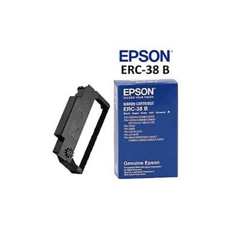 Ribbon Cartridge Pita Epson Erc 38b epson epson erc 38 b ink ribbon price in india buy