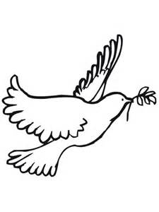 Peace Dove Coloring Sheet Coloring Pages Peace Dove Coloring Page