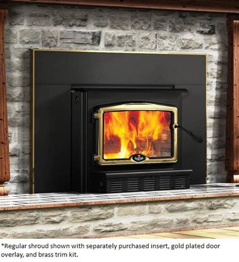 Efficient Wood Burning Fireplace Inserts by Osburn Large Fireplace Insert Shroud For Osburn 2000