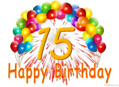Happy 15th Birthday Cards Happy 15th Birthday Pictures To Pin On Pinterest Pinsdaddy