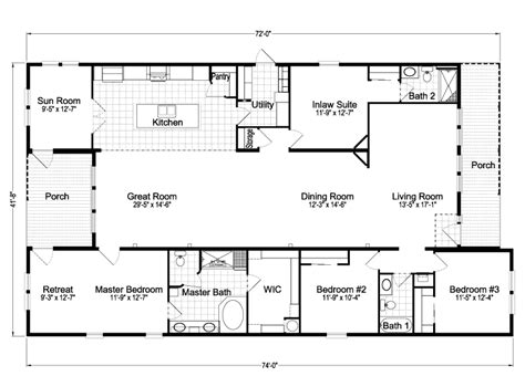 small casita floor plans