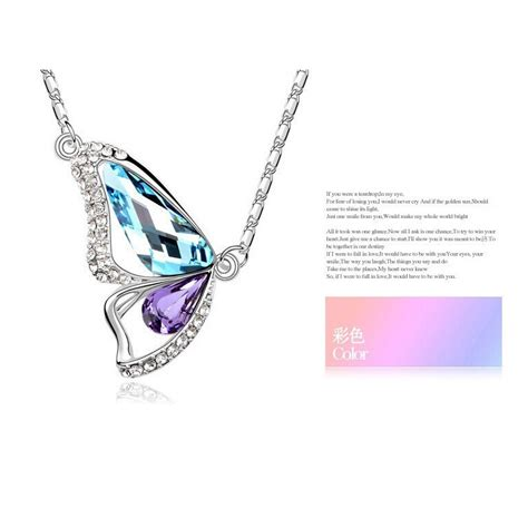 butterfly wings of necklace kalung