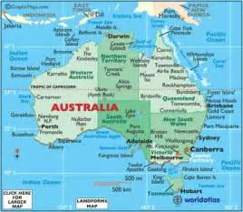 australia map latitude and longitude lines