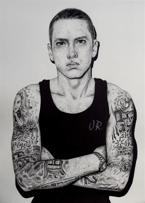 eminem eminem artwork eminem slimshady tattoo art