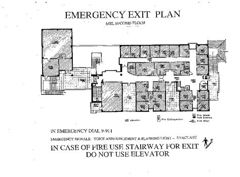 emergency exit floor plan pin emergency exits floor plan