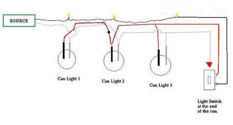 recessed lighting wiring diagram