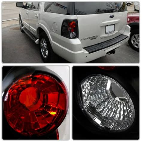 ford expedition tail lights ford expedition 2003 2006 black altezza tail lights
