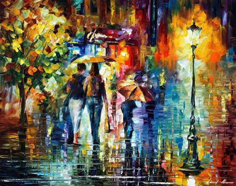 Alas Foto Jumbo 88cm X 60cm 21 leonid afremov on canvas palette knife buy original paintings artist